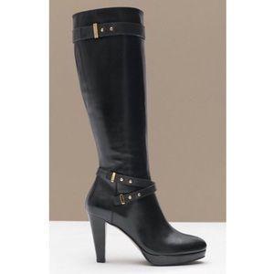 Cole Haan Women's Black 'air Cara' Knee-High Boot